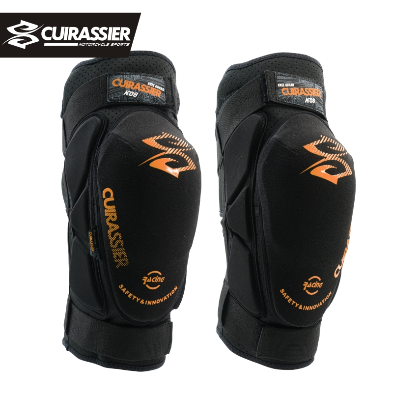 Cuirassier Kevlar Motorcycle Knee Protector Scooter Motor Sport Protective Knee Guards Safety Road Motorbike Knee Pads Equipment