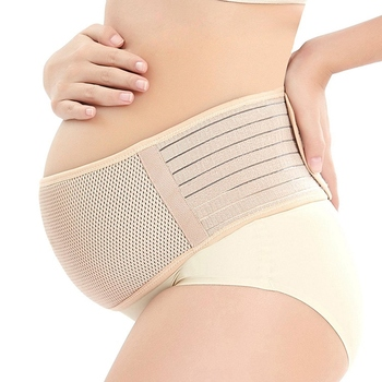 Maternity Support Belt Breathable Pregnancy Belly Band Abdominal Binder Adjustable Back/Pelvic Support