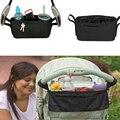 Cochecito de bebé organizador de la copa del bolso del carro cochecito cochecito de niño cesta cochecito accesorios bolso del coche Compatible clave y bolso del teléfono