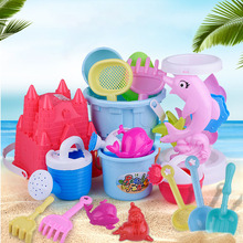 Summer play sand water children dug plastic beach toy set for baby gifts