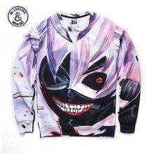 Tokyo Ghoul Naruto Sasuke Men/Women 3D Hoodie Sweatshirt