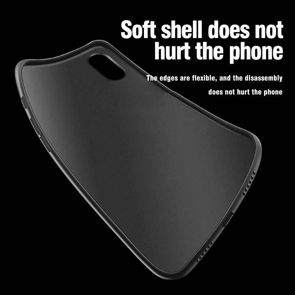 Kisscase doces cor caso do telefone para o iphone 6s 7 8 plus ultra fino matte pc caso do telefone móvel para o iphone x xr xs max fundas
