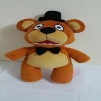 New Hot Sale Five Nights At Freddy Fazbear Bear Plush Toys Doll Station 15Kids Toys Inside Out Plush Stuffed bear Free Shipping