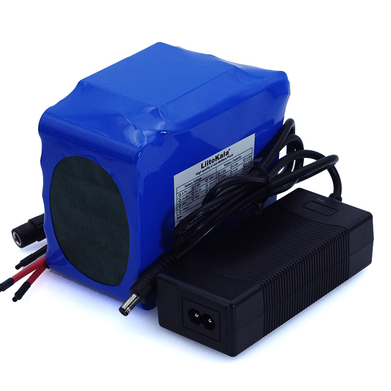 Image 4 - LiitoKala 12V 20Ah high power 100A discharge battery pack BMS protection 4 line output 500W 800W 18650 battery+ 12.6V 3A Charger-in Battery Packs from Consumer Electronics
