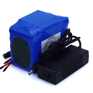 Image 4 - LiitoKala 12V 20Ah high power 100A discharge battery pack BMS protection 4 line output 500W 800W 18650 battery+ 12.6V 3A Charger