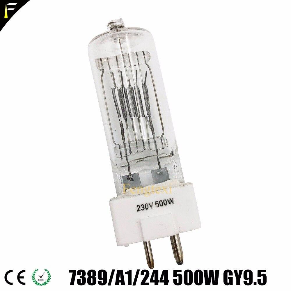 Studio Halogen Lamp FSL/FRJ  6872P 300w 230v 240v / GCV GVH 6820P 500w 230v / FRL 6638P 650w 230v / FVA 6995P 1000w 240v
