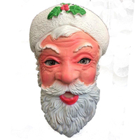 Free Shipping Wholesale New High Quality Latex Santa Claus Mask Christmas Party Masks Cartoon Figure Mask