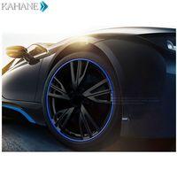 8M Wheel Hub Tire Sticker Strip Wheel Rim Tire Care Cover For VW Passat B6 B7