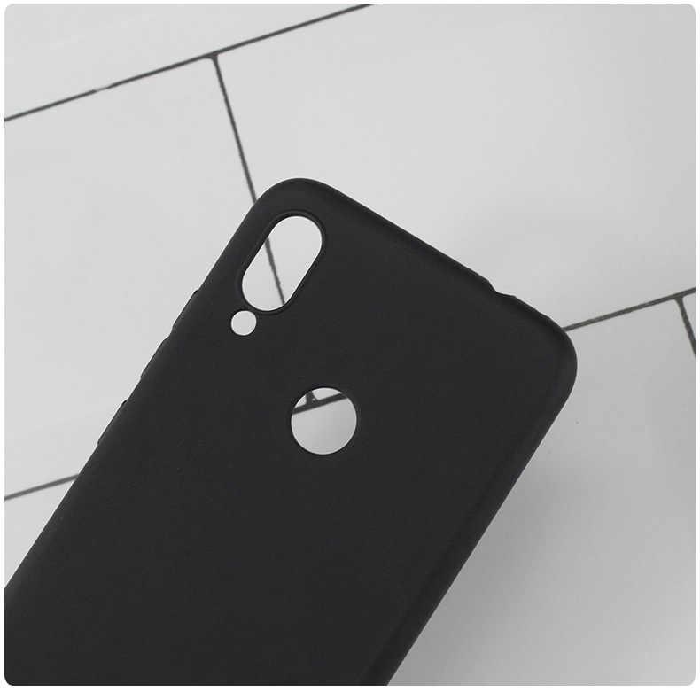 Étui en polyuréthane thermoplastique souple pour Xiaomi Redmi Note 7 Pro étui Protection complète en Silicone étui pour téléphone mat pour Xiaomi Redmi Note 7 Note7 étui