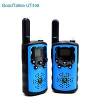 """מכשיר הקשר GoodTalkie UT308 ארוך טווח שני מכשירי רדיו דרך מכשיר הקשר נסיעות 10 ק""""מ (2)"""