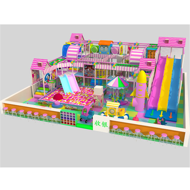Estructuras paisajsticas Kids inflable juego exterior castillo