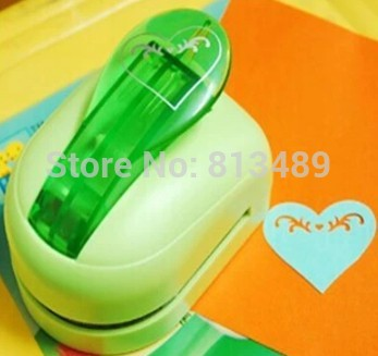 Free shipping scrapbooking punches heart shaped paper craft punch card cutter printing paper shaper perfurador de papel S2924