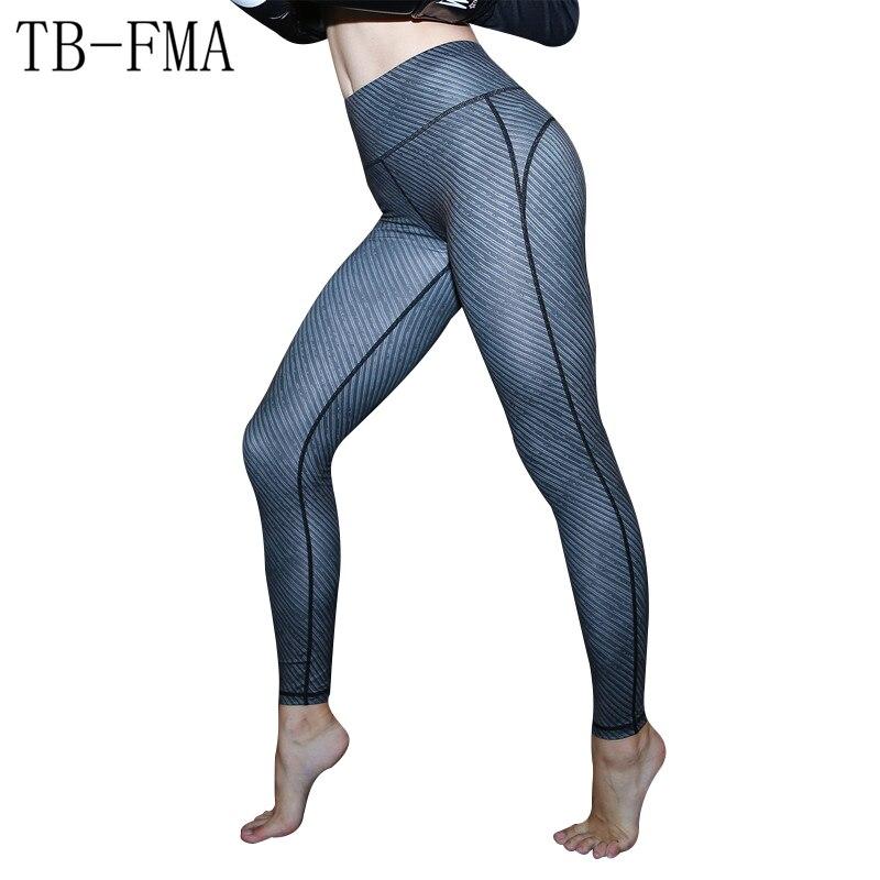 high-quality fabrics yoga pants women sport pants S/M/L/XL Women Yoga pants High Elastic ...