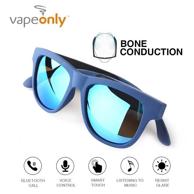 ahorrar a91cc 6410f G1 Bluetooth conducción ósea auriculares gafas polarizadas impermeable  estéreo inalámbrico Auriculares con micrófono