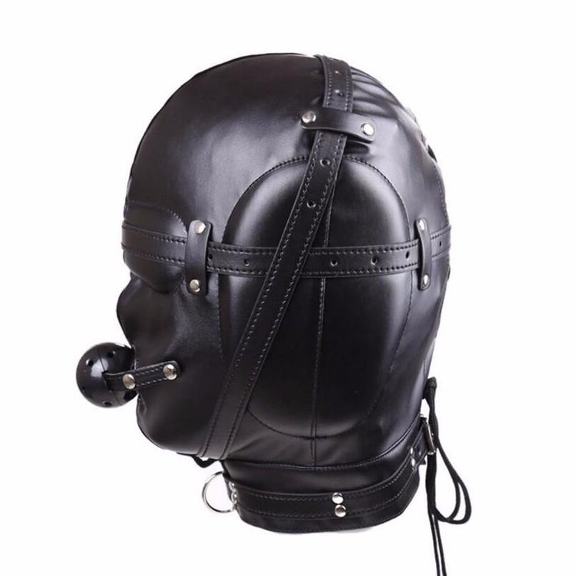 \u00a0Great for sex play OPEN VESSEL in elephant grain leather and just good old frivolity! Super soft leather mask
