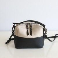 2018 Hot Sale 100 Genuine Leather Women S Messenger High Quality Vintage Handbag Shoulder Bag Female