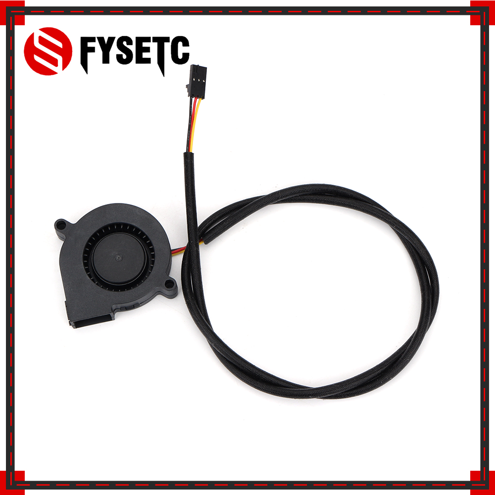 Prusa I3 MK3 3D Printer Parts DC 5V 5015 Blow Radial Cooling Fan Hydraulic Sleeve Bearing Front Print Fan Cooler Radiator