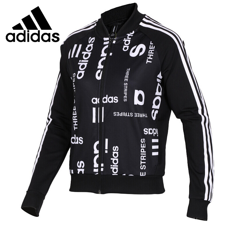 Original New Arrival 2018 Adidas Neo Label W Fav Bomber TT Women's jacket Sportswear striped trim fluffy panel bomber jacket