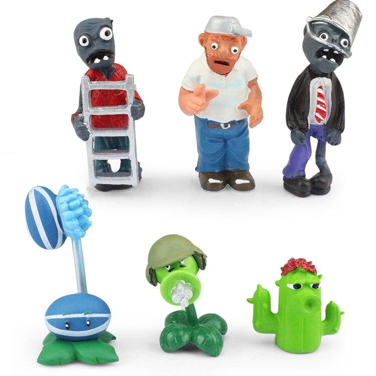 52 ピース/セット植物対ゾンビ PVZ コレクションフィギュアおもちゃ植物やゾンビフィギュアのおもちゃ送料無料  グループ上の おもちゃ & ホビー からの アクション & トイ フィギュア の中 2