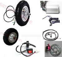 10inch 500W 48V front wheel hub motor ,electric scooter motor kit ,skateboard electric motor