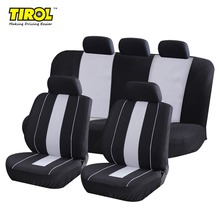 TIROL  Universal Full Car Seat Cover Set  9Pcs Seat Protective Interior Accessories For Crossovers SUV Sedan Free Shipping