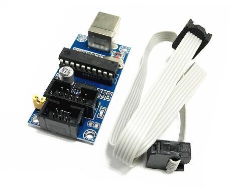 Бесплатная доставка 5 компл. AVR микроконтроллер Download Manager посвященный USB интерфейсный кабель Разъем