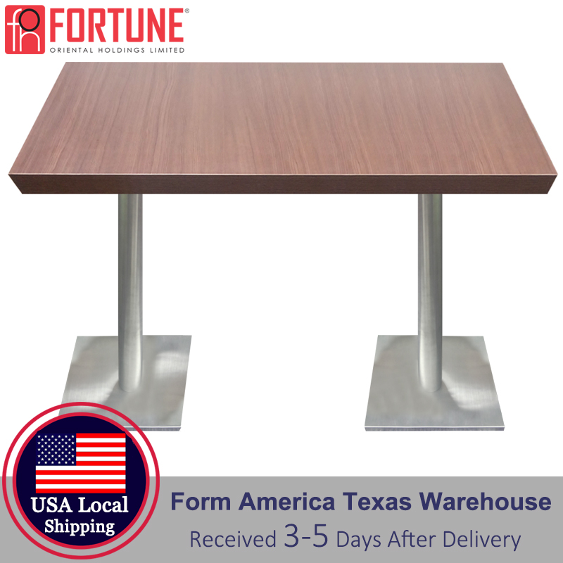 42x24 USA Local Shipping Dining Table Top Commercial Furniture 4 People Rectangle Coffee Table Top Restaurant Table Top Sets