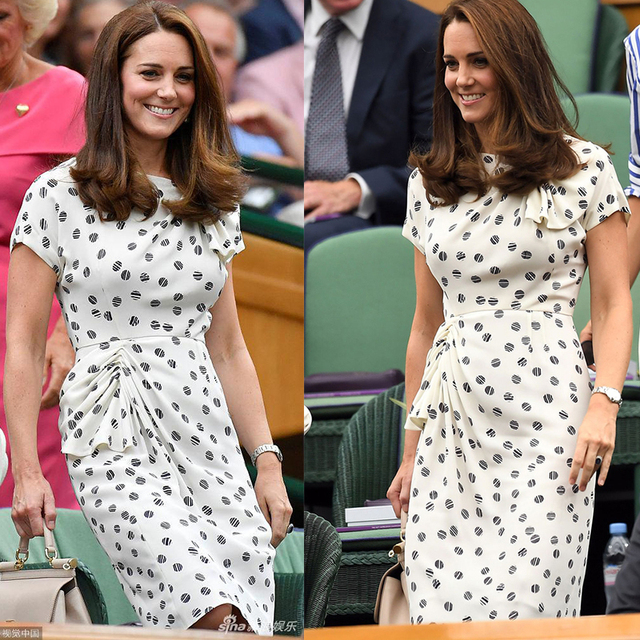 Новое винтажное платье принцессы Kate Middleton с принтом, модные плиссированные платья с короткими рукавами и круглым вырезом