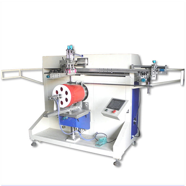 Pail Serigraphy Machine  (PLC And Touch Screen Display)