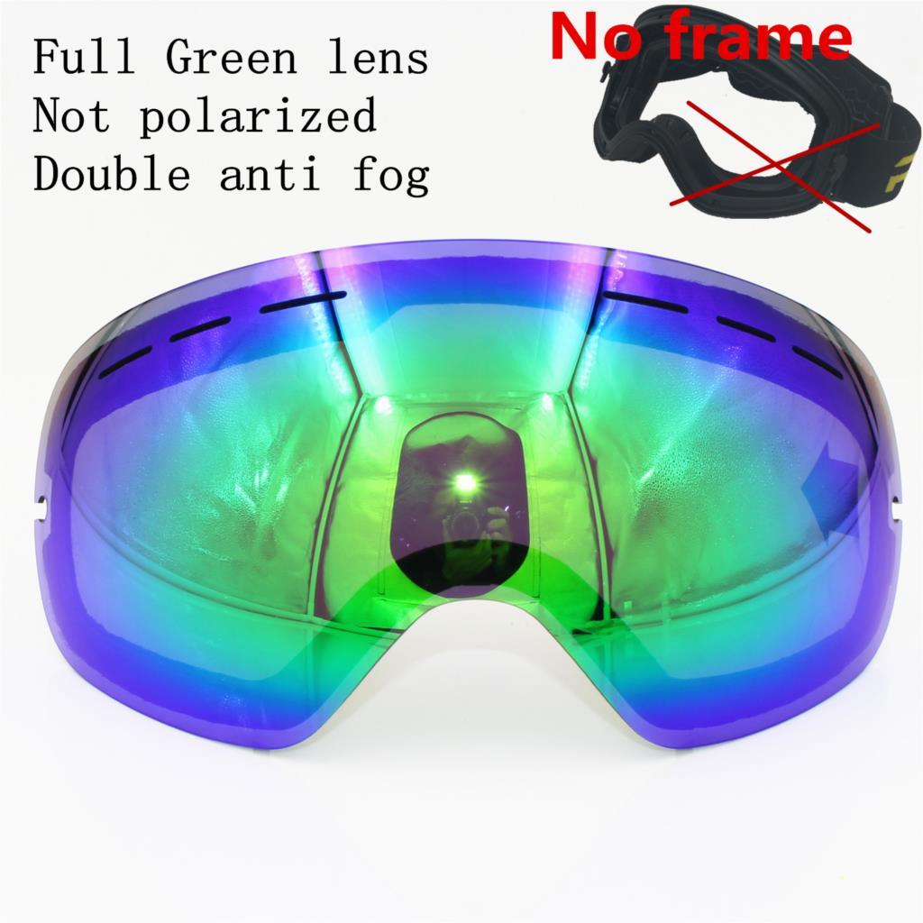 2f39fd9d44e Dropwow New RBWORLD brand ski goggles Double layers UV400 anti-fog ...