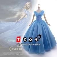 New 2015 Custom Made Women Halloween Cosplay Adult Princess Cinderella Costume Sexy Adult Cinderella Costume