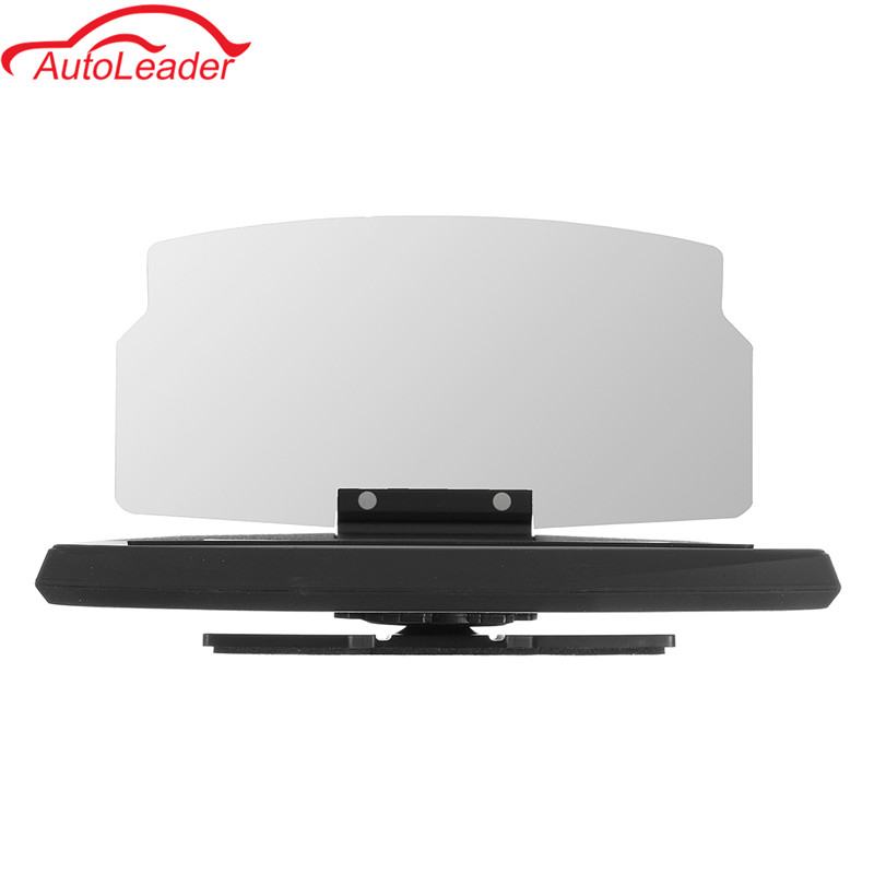 Car Windscreen Projector HUD Head Up Display Universal Mobile Phone Holder Multifunction 6.5 Inch For iPhone For Samsung GPS