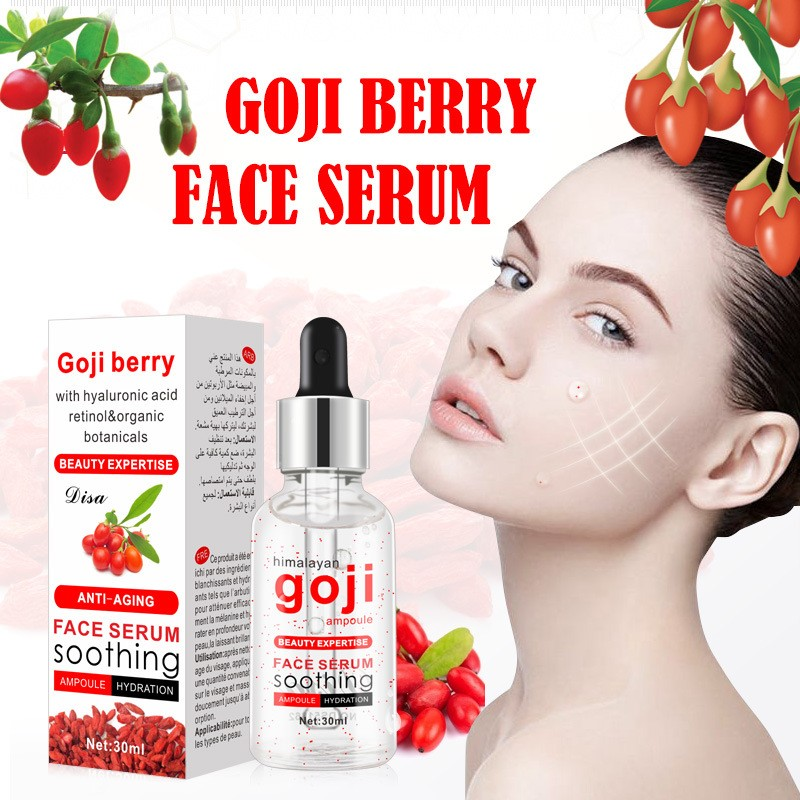 30ml Goji Berry Facial Serum Face Serum Anti-Aging Acne Treatment Whitening Moisturizing Remove Melanin Natural Facial Serum