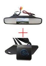 Цвет Автомобиля Заднего вида резервного копирования ccd Камера Ночного видения для Mitsubishi ASX RVR/Outlander Sport, с 4.3 Дюймов Зеркало заднего вида Монитор