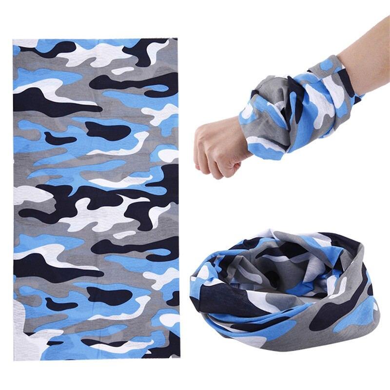 Camouflage Bandana Bibs 25*48Cm 100% Polyester Microfiber Scarf Children Multifunctional Seamless Bandana Baby Headbands 2017 82