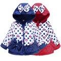 Толщиной baby дети вниз пальто милый мультфильм микки минни вниз над пальто для 1-6yrs ребенка мальчики девочки Зимняя куртка верхняя одежда одежда