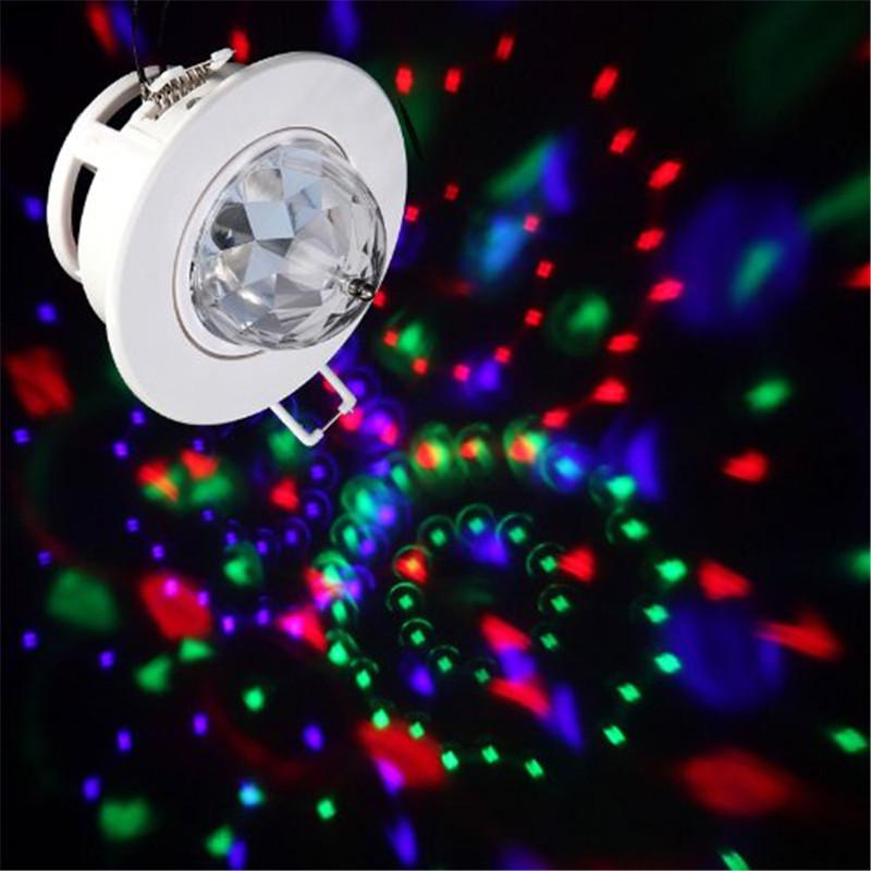 Ceiling stage light rgb light 3w led rotating stage light led ceiling stage light rgb light 3w led rotating stage light led effects full color voice activated dj disco ceiling light lamp in stage lighting effect from aloadofball Image collections