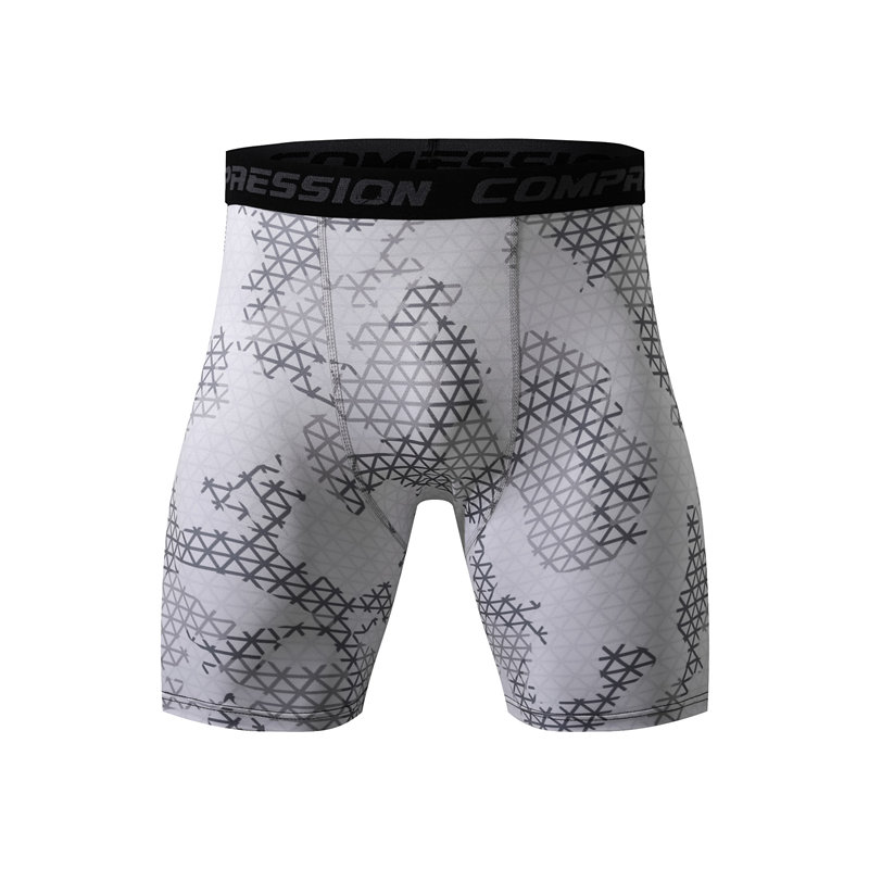 Running-Shorts Compression-Tights Men's Summer Fitness Training Gym Quick-Dry