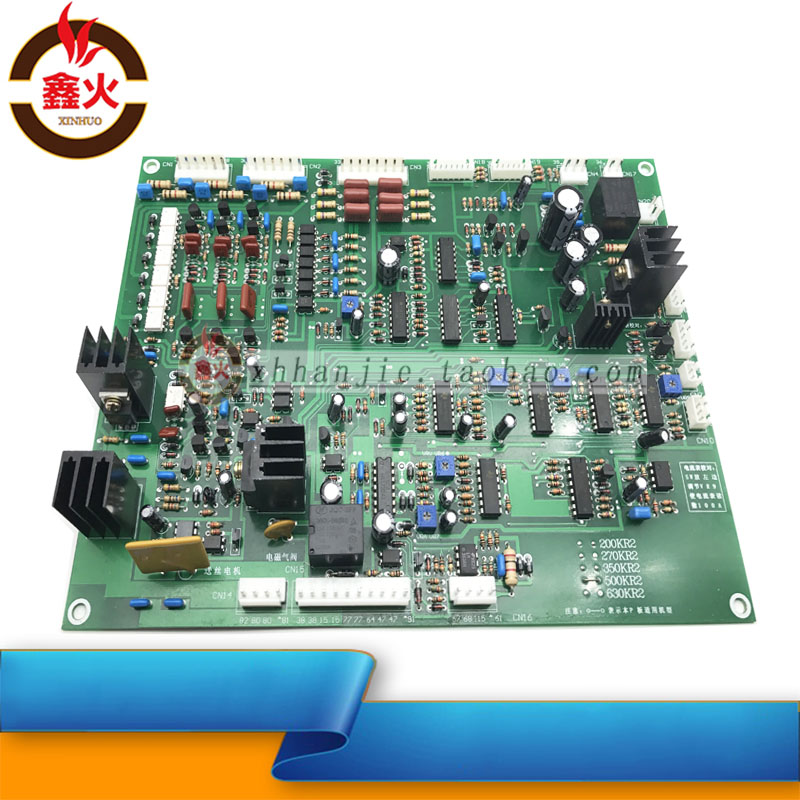 Panasonic KR SCR Air Shielded Welding Machine Control Board KR500/350 Carbon Dioxide Welding Machine Main Board Circuit Board nbc350 500 gas shielded welding machine control board single tube igbt two welding machine 350 circuit board main board