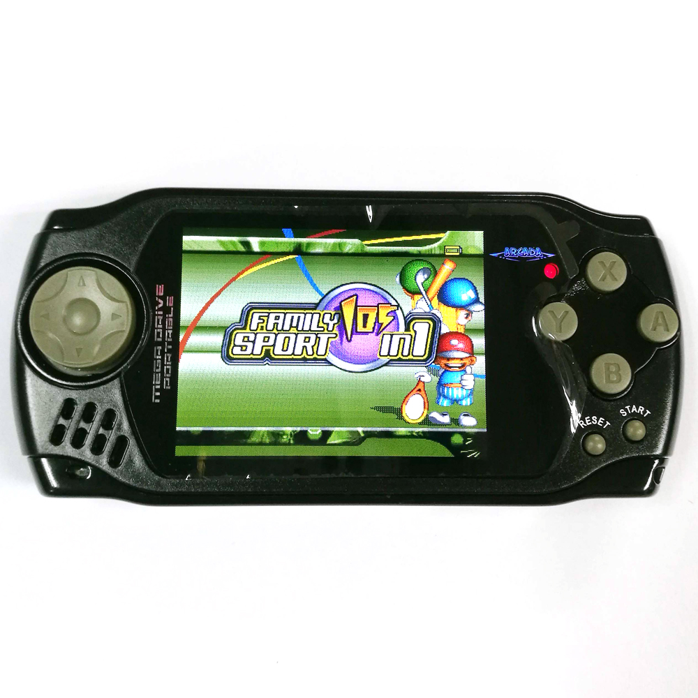 Handheld game player mini retro 105 in 1 games console 3.0 foot screen av out Portable travel games carrier for kids