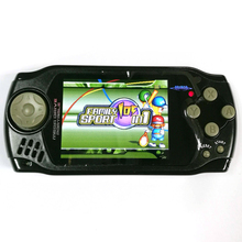 Handheld game player mini retro 105 in 1 games console 3.0 foot screen av out Portable travel carrier for kids