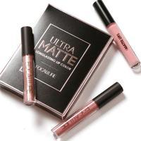 FOCALLURE New Lip Gloss Matte Liquid Lips Metallic Lipstick Kits Cosmetics Long Lasting Waterproof Pigments 3pcs