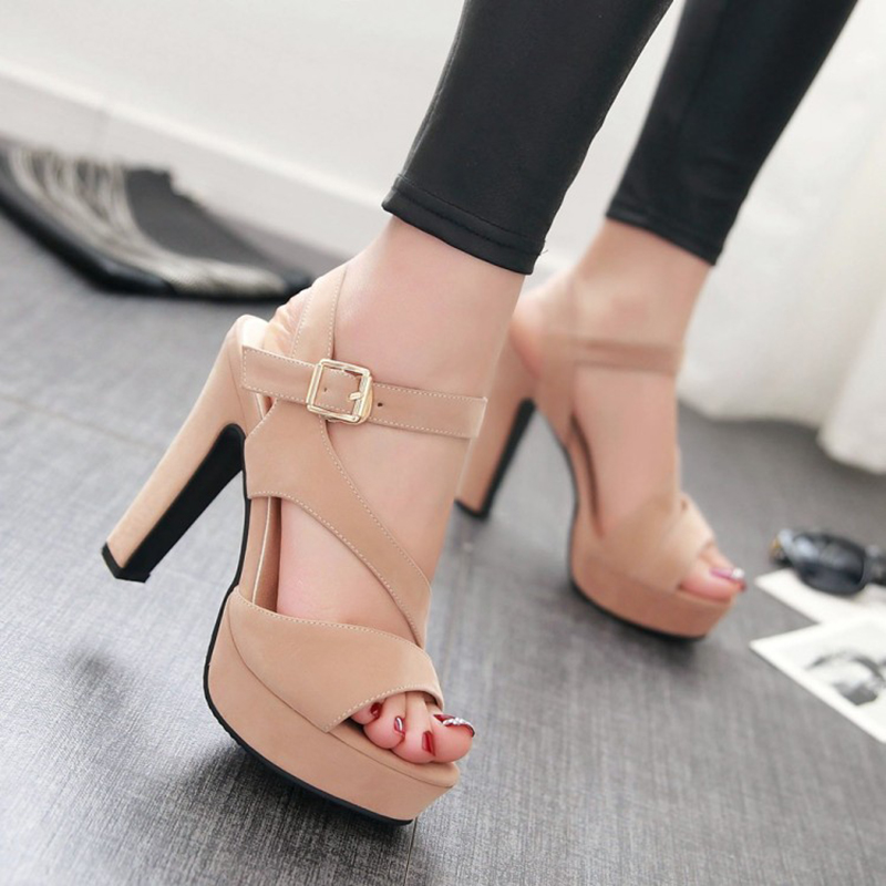 2016 sexy women sandals strappy heels shoes platform women shoes summer gladiator sandals brand woman shoes chaussure femme BDE0 2017 new summer strappy heels platform woman sandals designer sandals for women sexy brand closed toe gladiator sandal