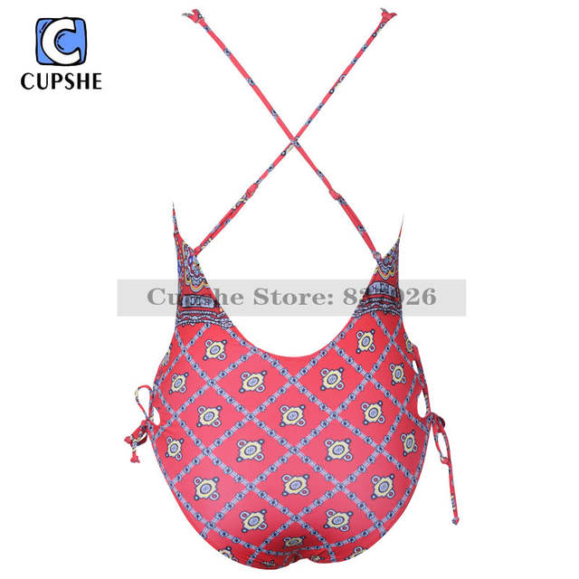 2c6ee432c635d US $8.31 48% OFF CUPSHE Waiting For The Sun One piece Swimsuit Women Summer  Sexy Swimsuit Ladies Beach Bathing Suit swimwear -in Body Suits from ...