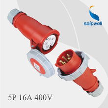 Combination Sale 415V16A 5P Male and Female Electric Plug Socket Outlet IP67