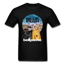 Billie Eilish Music Vintage T Shirt Cotton Crewneck Short Sleeve T-shirts for Men New Couple's S-XXXL Mens T Shirts Top Tee new style and new personality stamp for men s short sleeve t shirts