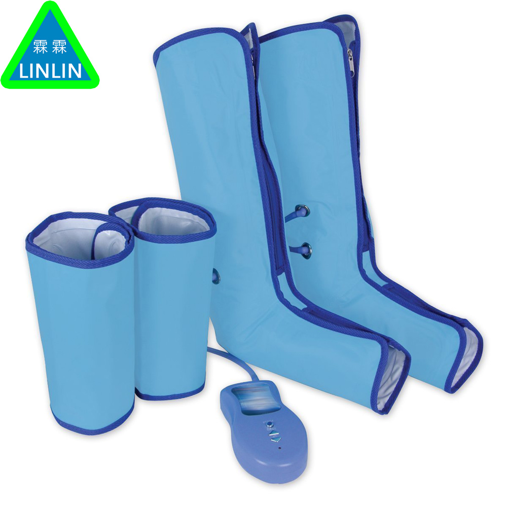 Ankle Therapy Massage Slimming Legs Foot Massager Air Compression Leg Wrap Boot Socks Heating Sauna Belt Relax Vibrator multifunctional the leg massage device foot machine massage instrument old man leg massager portable design 130903 1