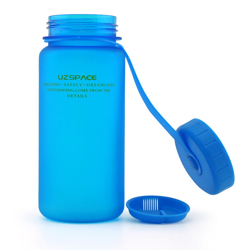 Home Plastic Space Bottle Portable Water Bottles Scrub Cycling Camping Travel Drinkware My Shaker Bottle LH8s