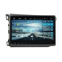 2GB RAM 10.1″ Octa Core Android 6.0 Car Audio DVD Player for Honda CIVIC 2012-2015 With Radio GPS 3G WIFI Bluetooth USB DVR OBD