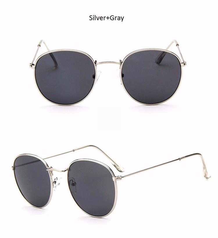 Vintage Round Mirror Sunglasses 17
